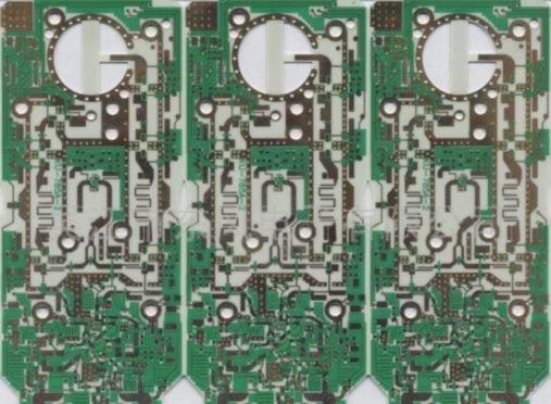 罗杰斯4003双面镀金电路板